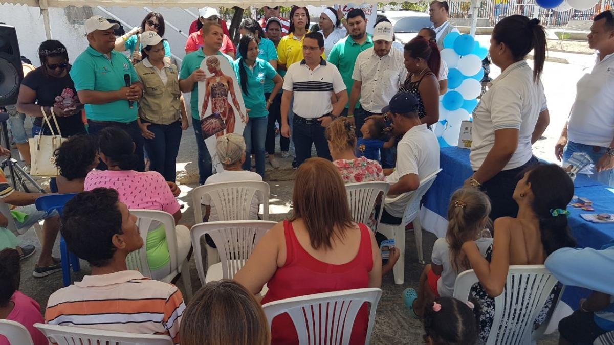 Distrito conmemora Día Mundial de la Lucha Contra la Tuberculosis