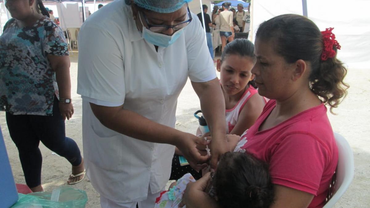 Distrito brinda atención en salud a población en condición de migración