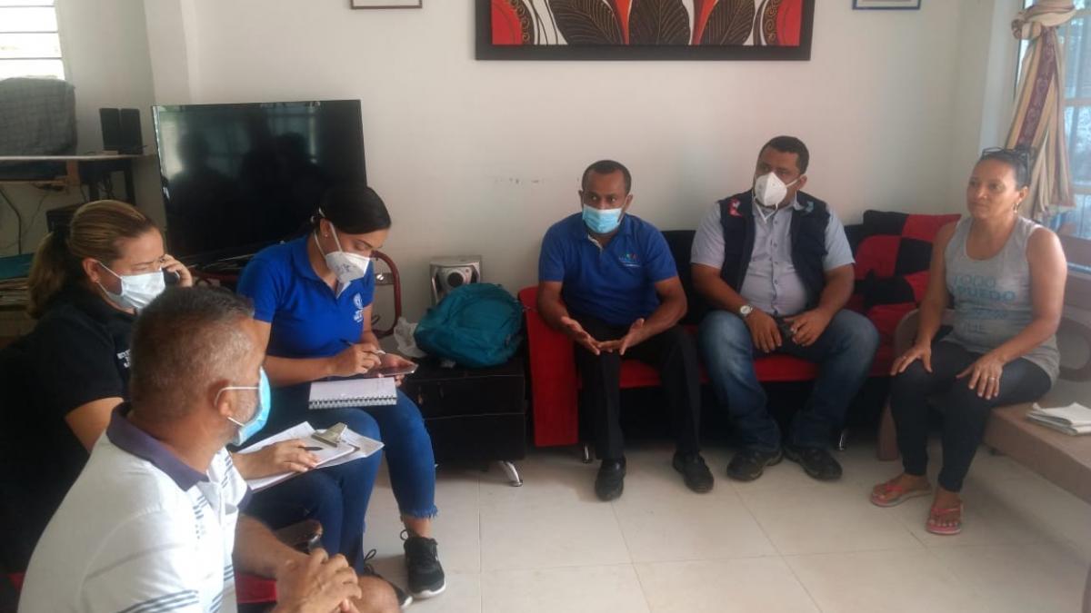 Distrito coordina acciones de seguimiento a la atención integral en salud