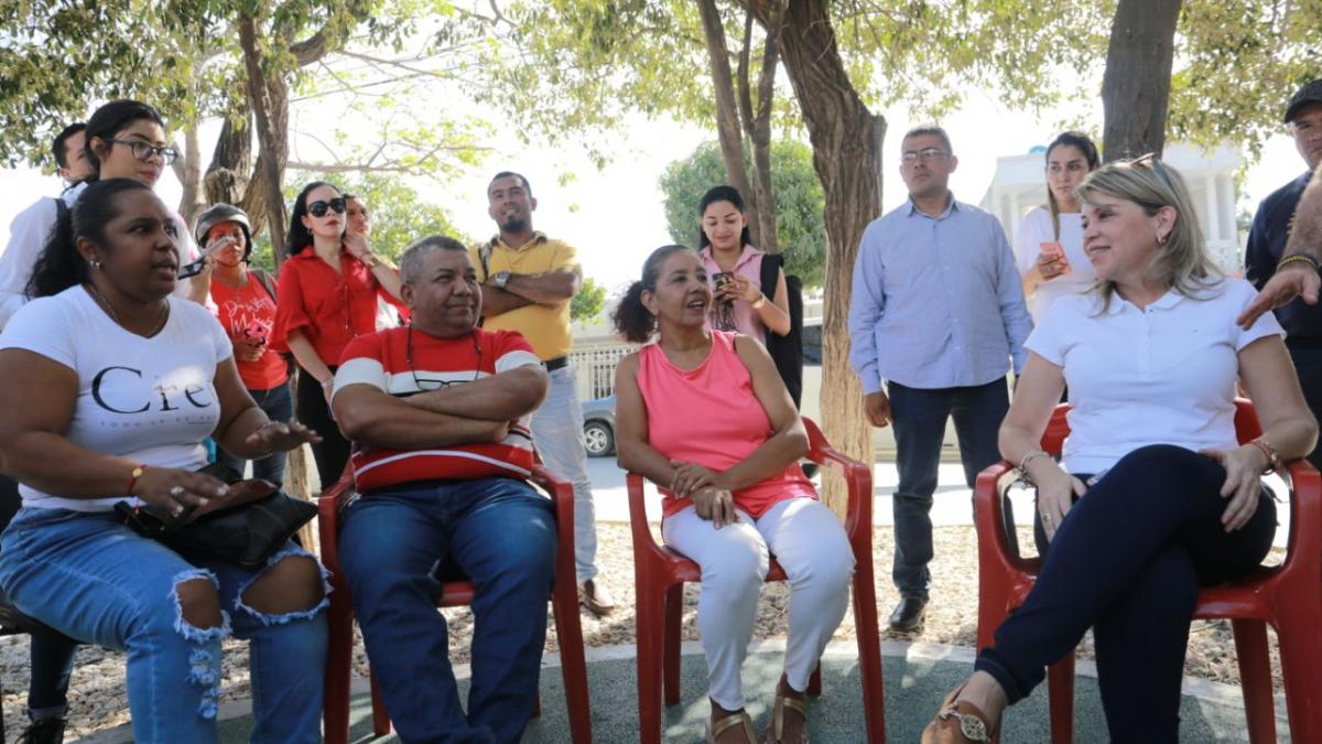 Virna escuchó a habitantes de Manzanares y San Pablo y socializó proyectos que solucionarán la problemática del agua