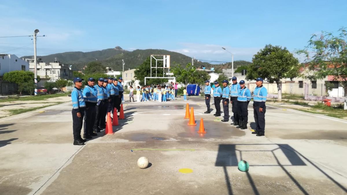 Con educación vial, Secretaría de Movilidad se toma colegios públicos de Santa Marta