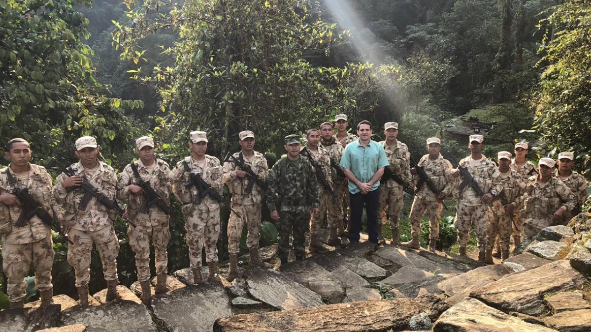 Por gestión del alcalde Martínez, llegan a La Ciudad 160 soldados a reforzar la seguridad en la Sierra Nevada