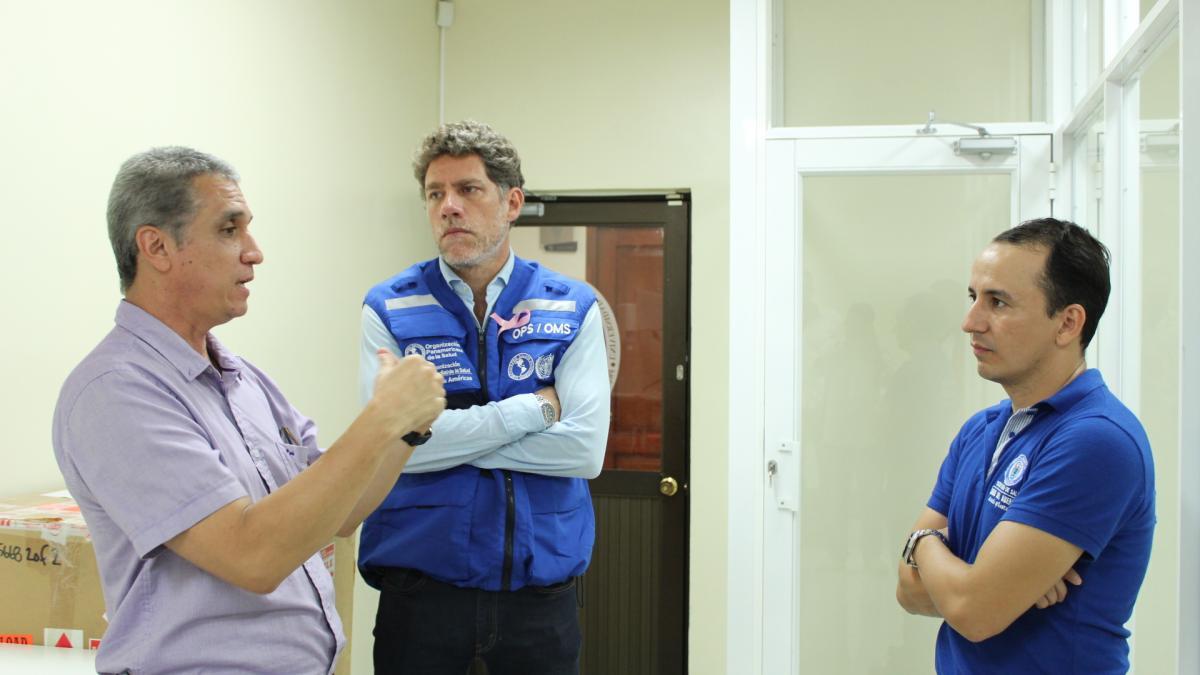 """""""Felicito al Distrito por toda la labor para contrarrestar los mosquitos"""": Gina Tambini, Directora OPS/OMS Colombia"""