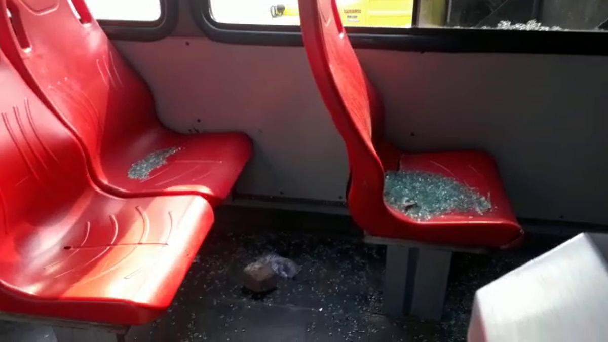 Alcaldía de Santa Marta rechaza actos vandálicos contra buses del transporte público