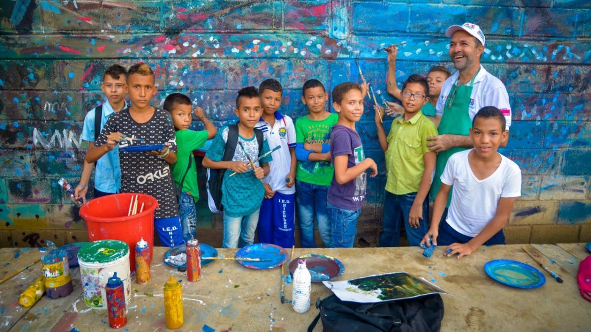 Se reactiva la Estrategia de Formación Artística y Cultural en Santa Marta