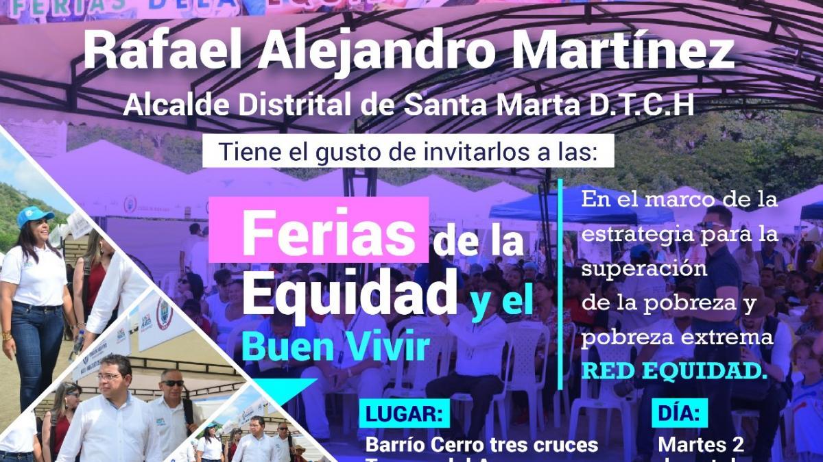Ferias de la Equidad y el Buen Vivir visitan Cerro de las Tres Cruces