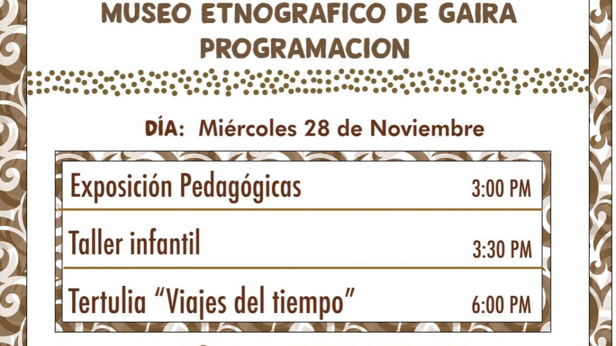 Museo Etnográfico de Gaira abre sus puertas con nutrida agenda cultural