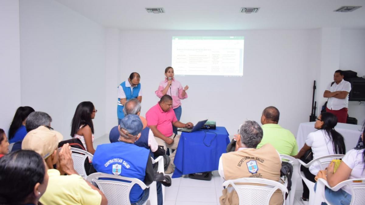 Alcaldía socializa plan de contingencia para la Fiesta  del Mar