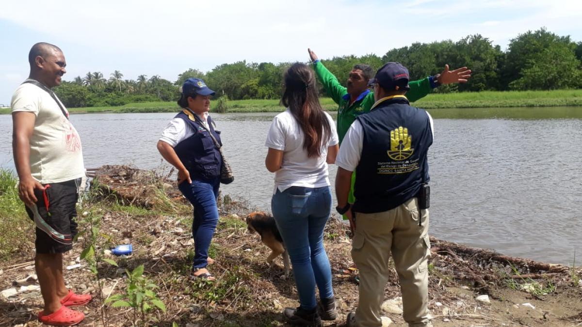 Alcaldía continúa con las acciones de reducción del riesgo en el Distrito