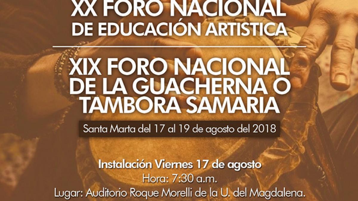 Se realizará el X Foro Nacional de Educación Artística