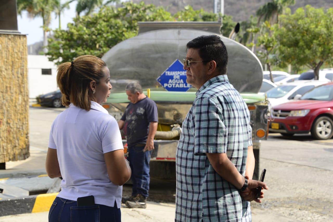 Essmar le cumplió a samarios y turistas en Semana Santa