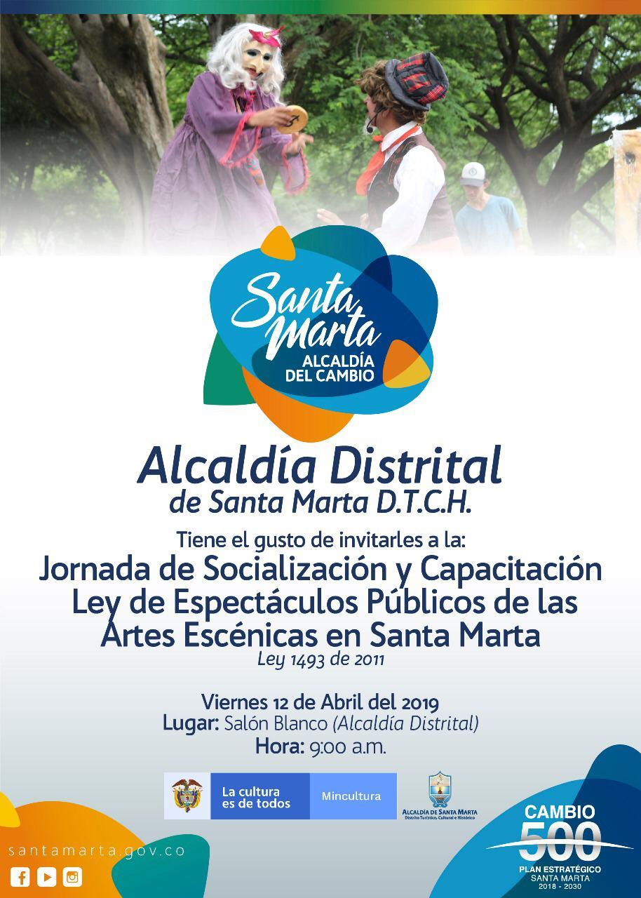 Distrito y  Ministerio de Cultura socializarán Ley de Espectáculos Públicos de las artes escénicas