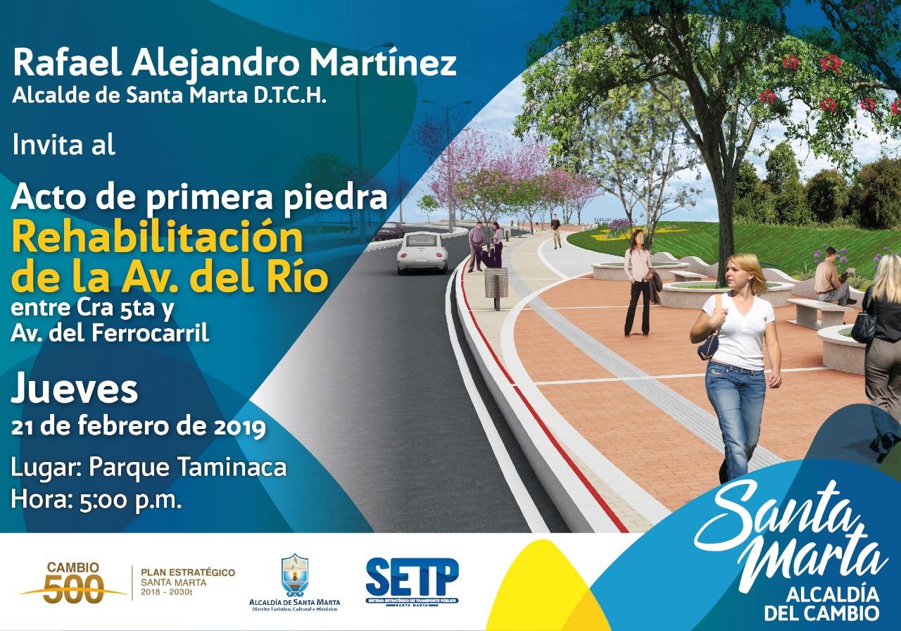6ead76942 Inicia la rehabilitación de la avenida del Río
