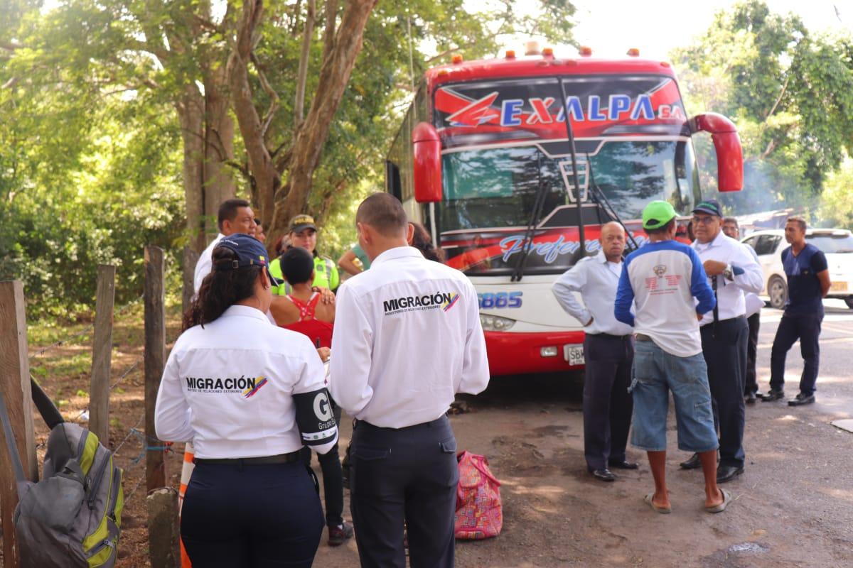 Autoridades distritales refuerzan operativos de control migratorio a la entrada de la ciudad