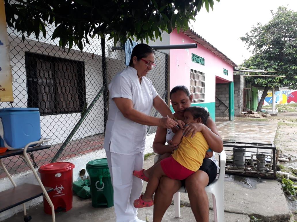 Distrito adelantó jornada de vacunación contra la influenza
